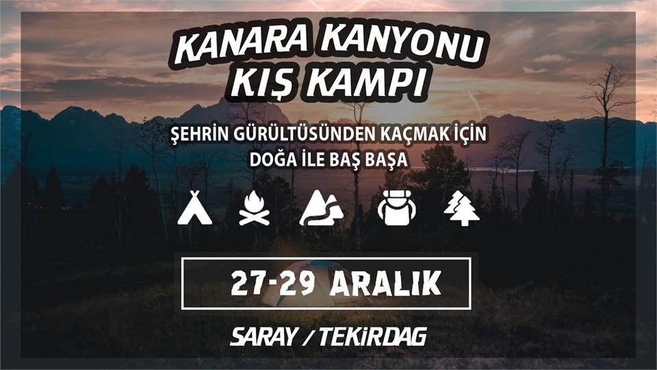 KANARA KANYONU KIŞ KAMPI