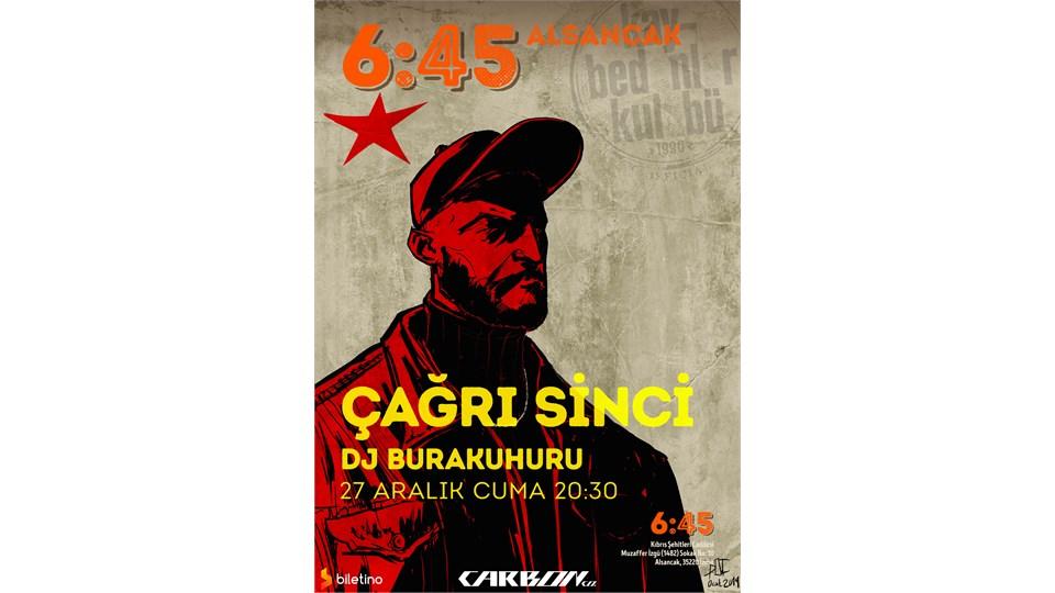 Çağrı Sinci 6:45 İzmir Lansman Konseri