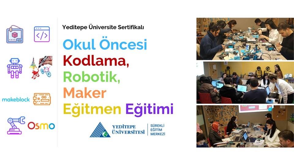 Okul Öncesi Robotik, Kodlama, Maker Eğitmen Eğitimi (Ön Kayıt)