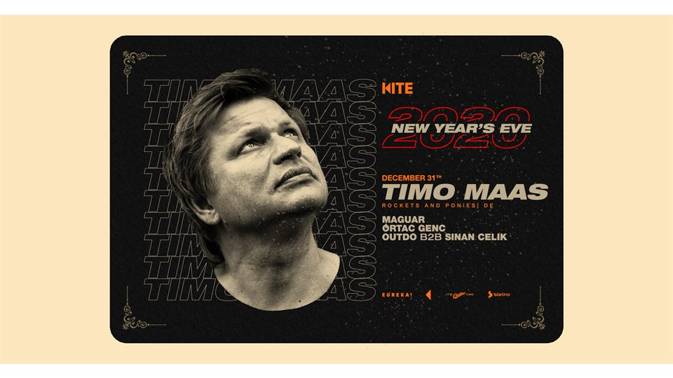 New Year's Eve:Timo Maas, Maguar, Ortaç Genç; Outdo, Sinan Çelik