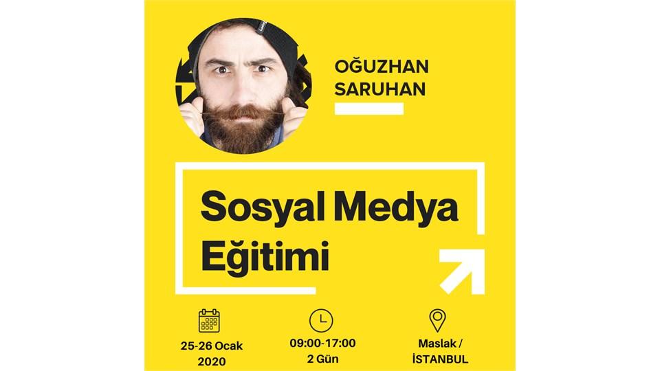 Hızlandırılmış Sertifikalı Sosyal Medya Eğitim/  2 Günlük