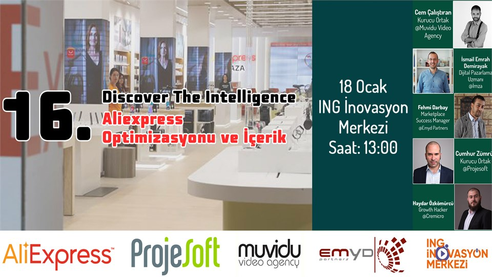 16. Discover The Intelligence - Aliexpress Optimizasyonu ve İçerik