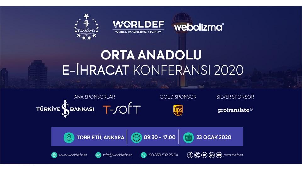 Orta Anadolu E-İhracat Konferansı 2020
