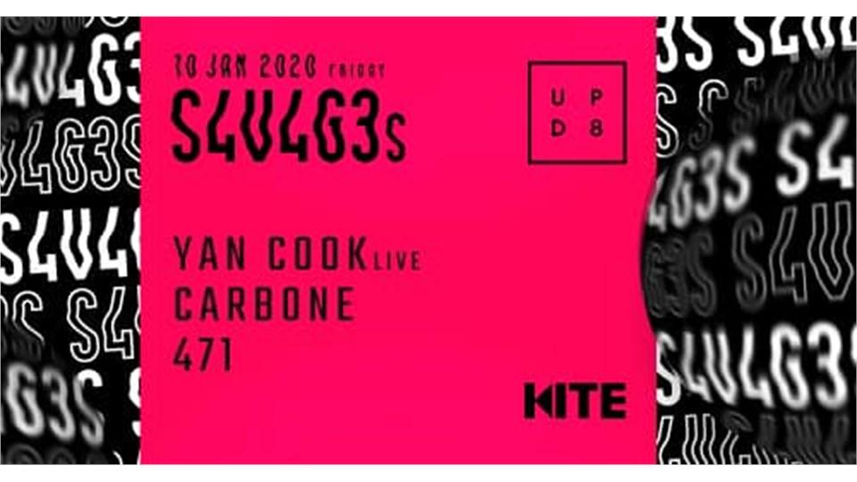 S4V4G3s w/ Yan Cook live