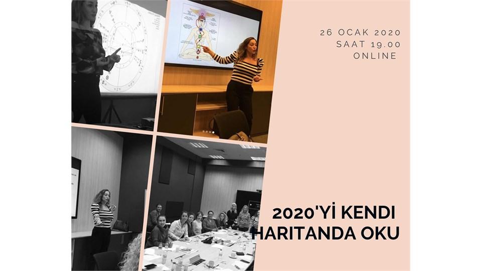 2020'yi Kendi Astroloji Haritanda Oku - ONLINE