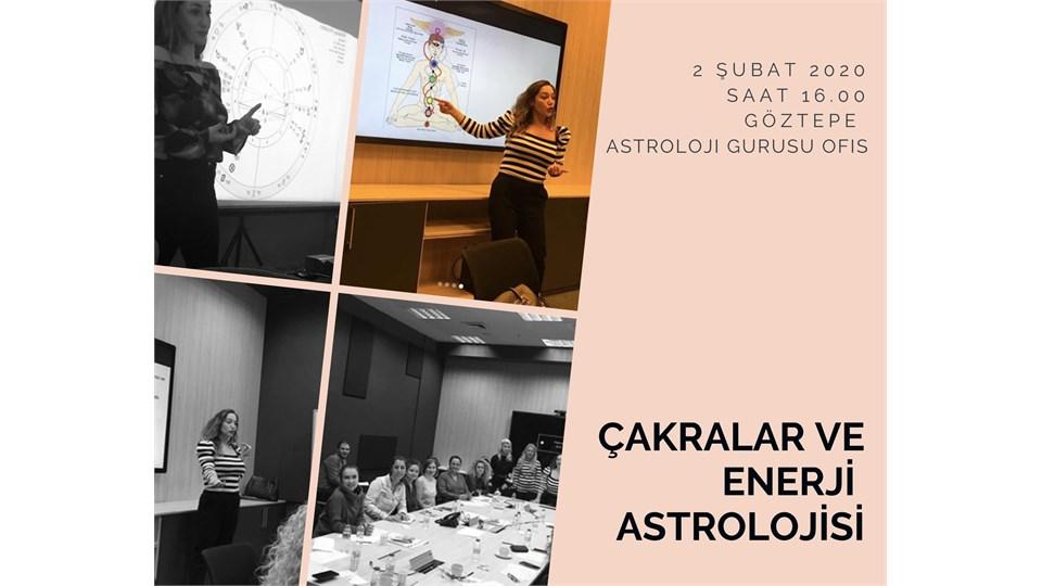 Çakralar ve Enerji Astrolojisi Atölyesi