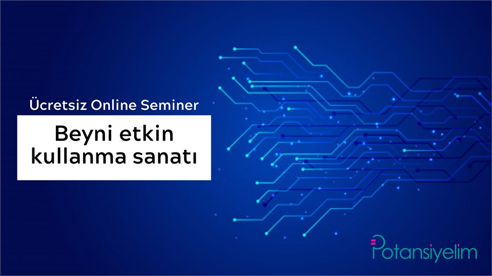 Beyni Etkin Kullanma Sanatı (Online Seminer)