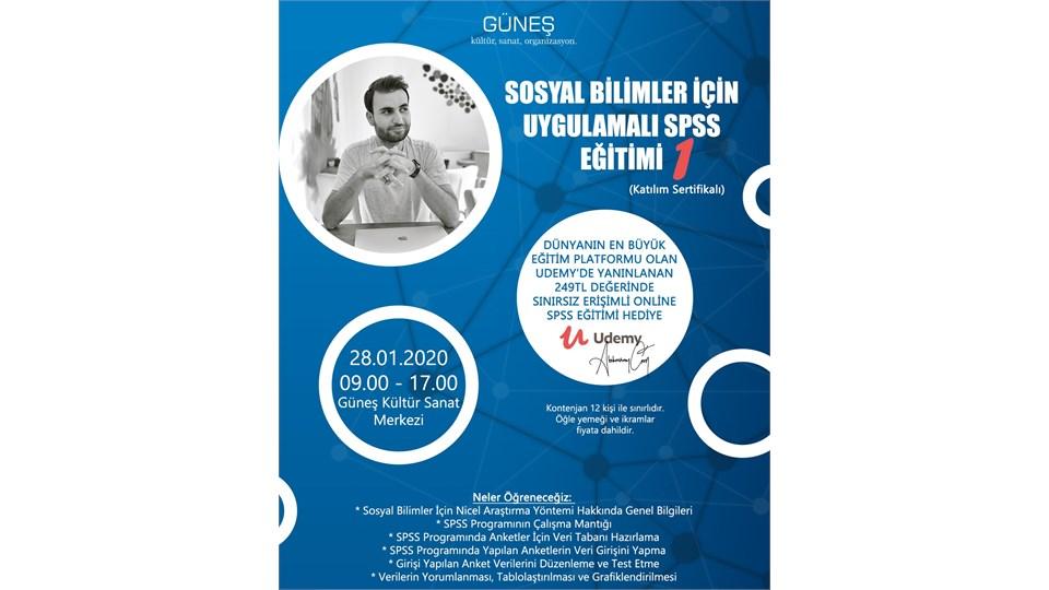 Sosyal Bilimler İçin Uygulamalı SPSS Eğitimi