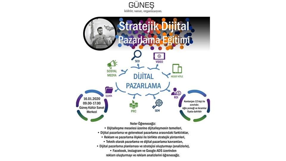 Stratejik Dijital Pazarlama Eğitimi
