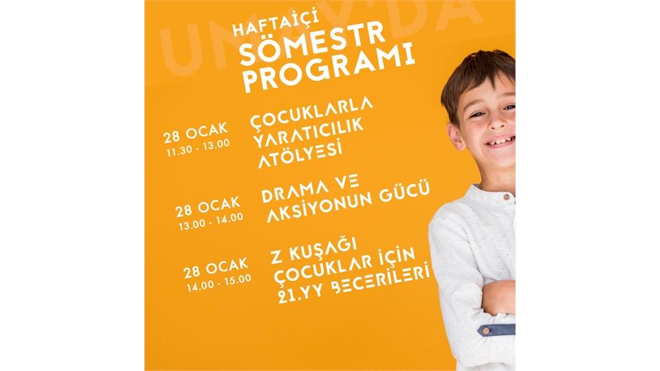 Umay'da Sömestr Haftaiçi Programı