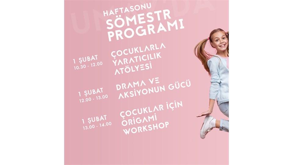 Umay'da Sömestr Haftasonu Programı