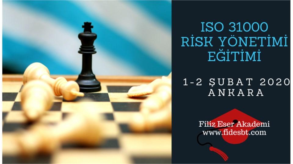 ISO 31000 Risk Yönetimi Eğitimi