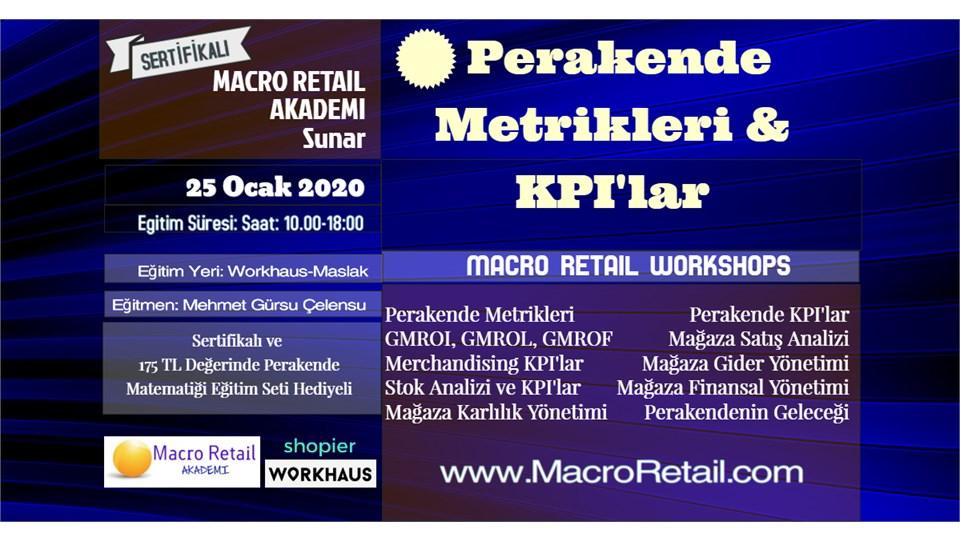 Perakende Metrikleri ve KPI'lar Eğitimi