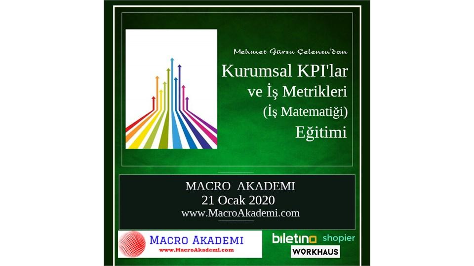 Kurumsal KPI'lar ve İş Metrikleri (İş Matematiği)