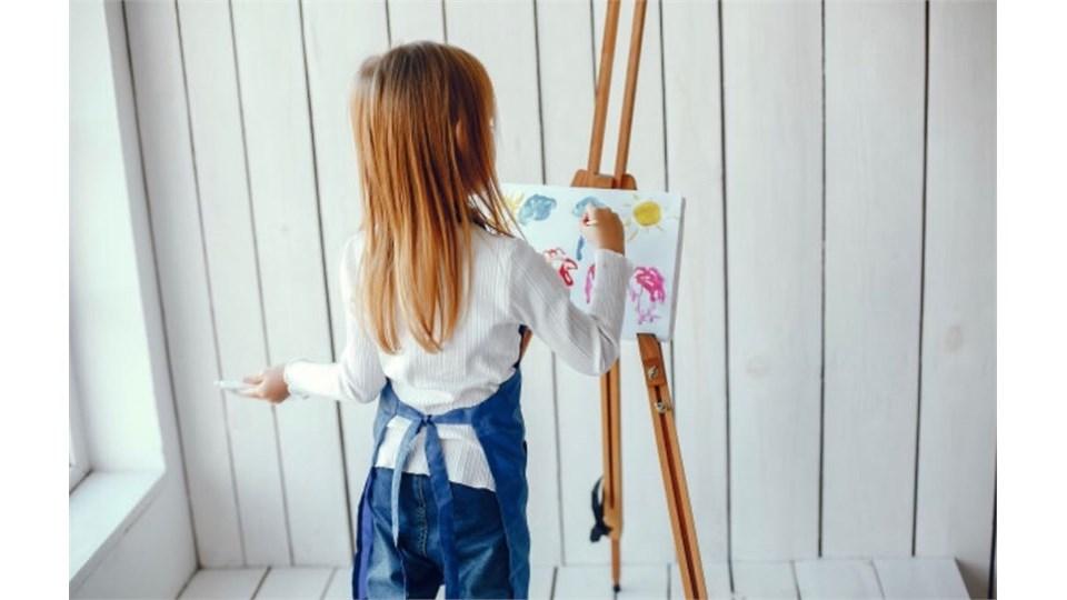 Çocuklar İçin Tuval Resim Atöyesi