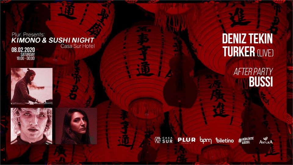 Plur Presents: Kimono & Sushi Night 着物