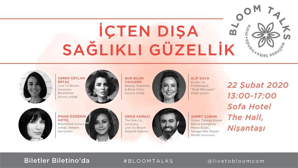 BloomTalks: İçten Dışa Sağlıklı Güzellik
