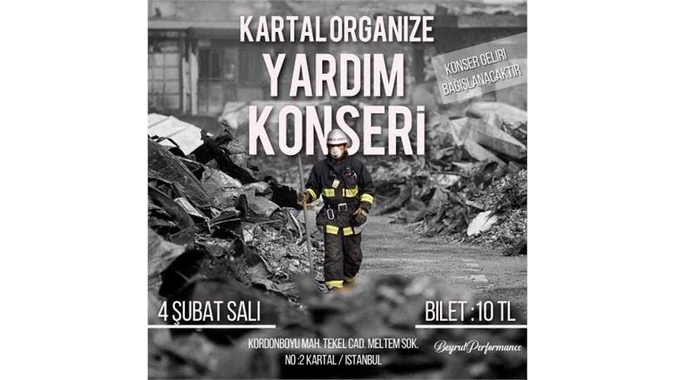 Elazığ-Malatya Yardım Konseri #KartalOrganize