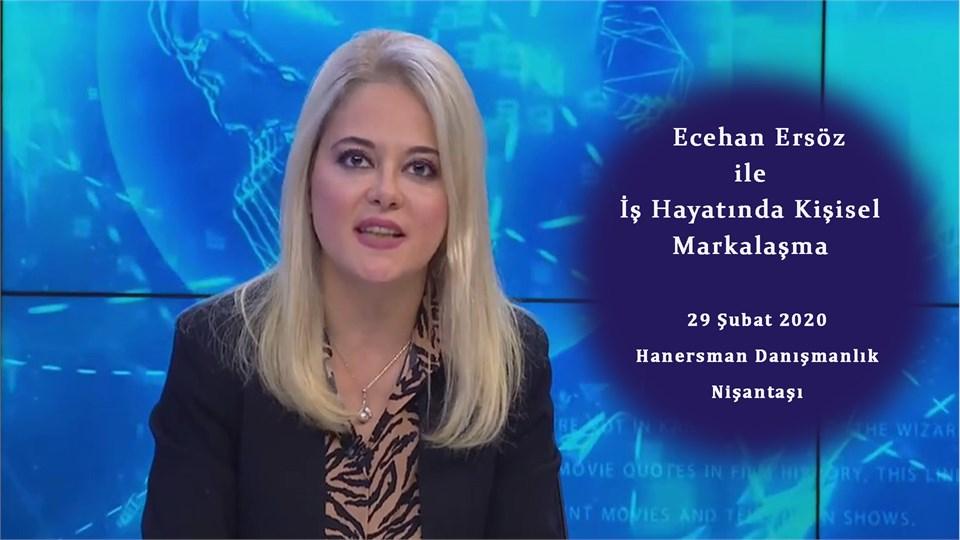 Ecehan Ersöz ile  Kişisel Marka Yönetimi