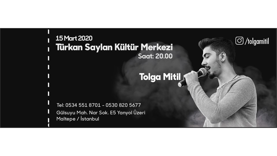 TOLGA MİTİL KONSER