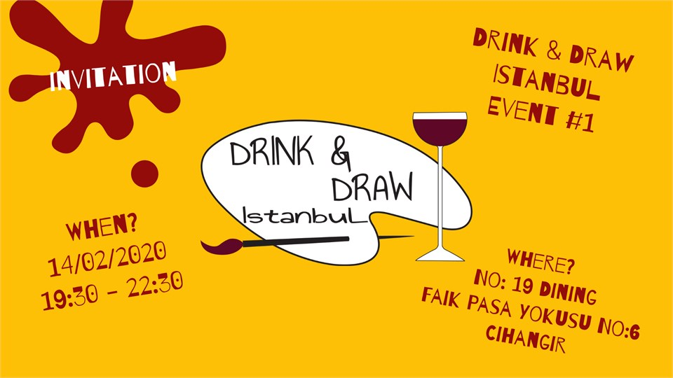 Drink & Draw Istanbul #1