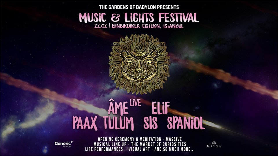 The Gardens of Babylon Istanbul w/ Âme Live, Spaniol & Many More