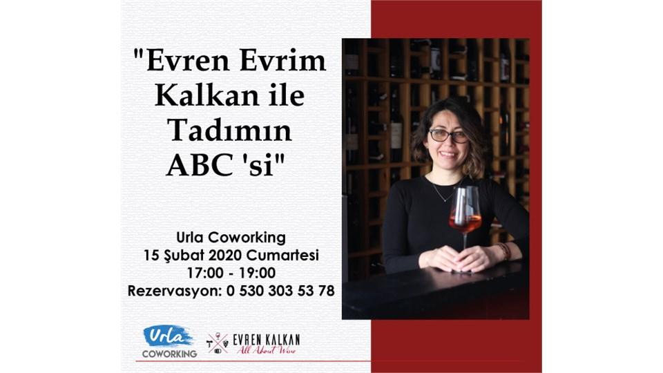 """Evren Evrim Kalkan ile """"Tadımın ABC'si"""""""