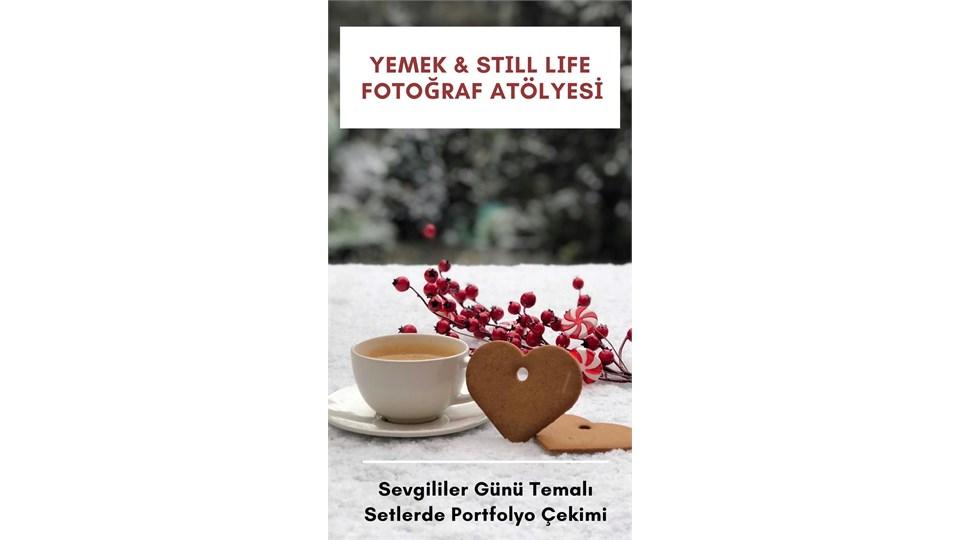 Yemek & Still Life Fotoğraf Atölyesi