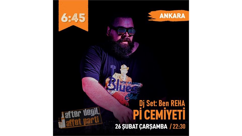 Pi Cemiyeti After Değil Affet Parti - Ankara