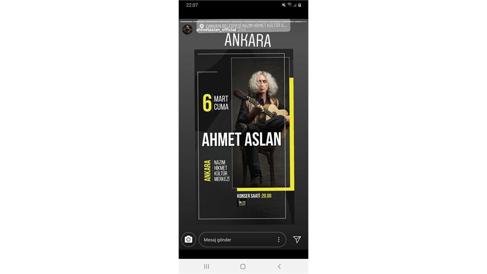 Ahmet Aslan Konseri
