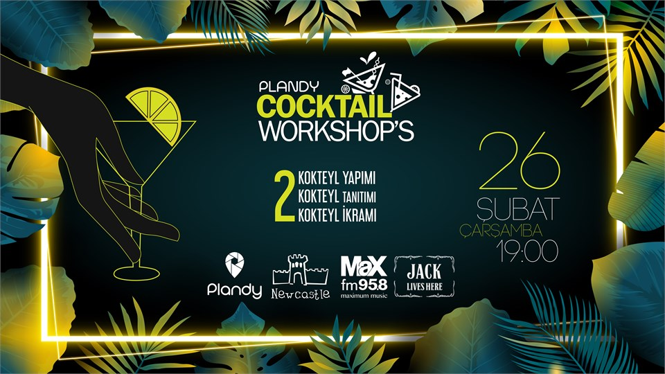 Plandy Cocktail Workshop's | Newcastle Tepe Prime