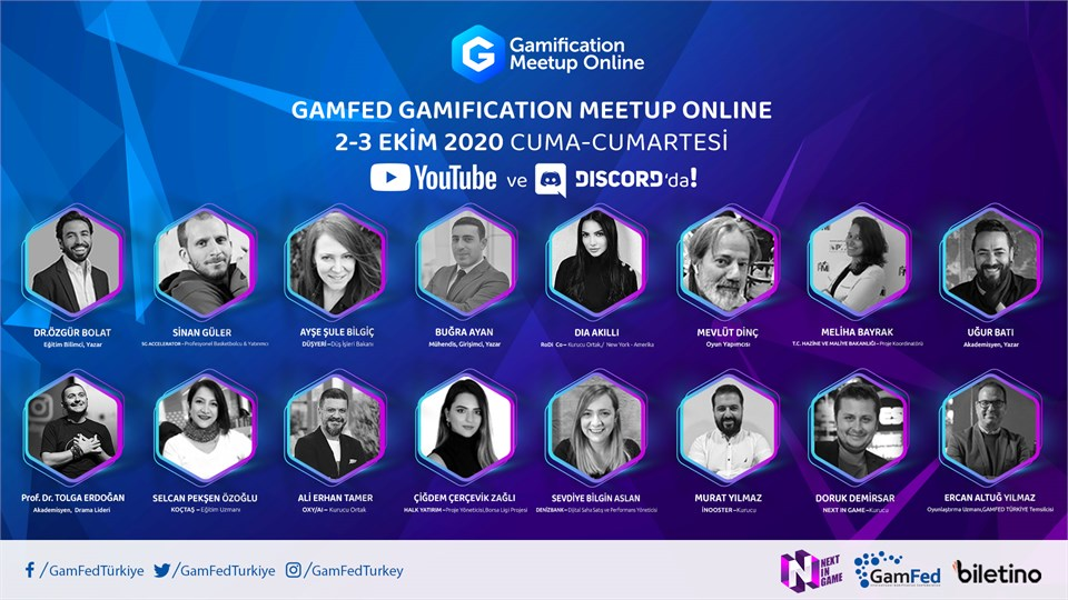 Gamification MeetUp Online - Gamfed Türkiye 4.Oyunlaştırma Konferansı