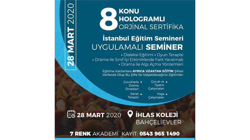 İstanbul Eğitim Semineri