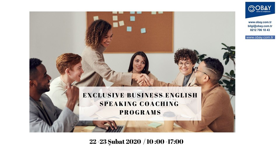 Exclusive Business English Speaking Coaching Programs