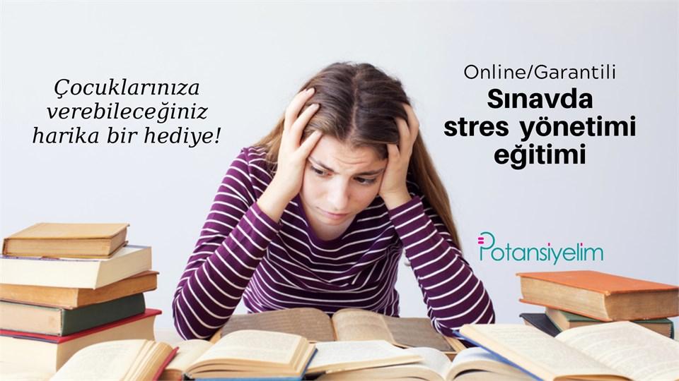 Sınavda stres yönetimi eğitimi