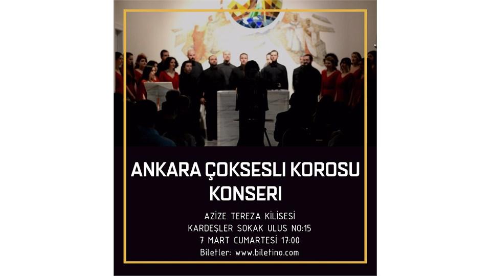 Ankara Çoksesli Korosu Konseri