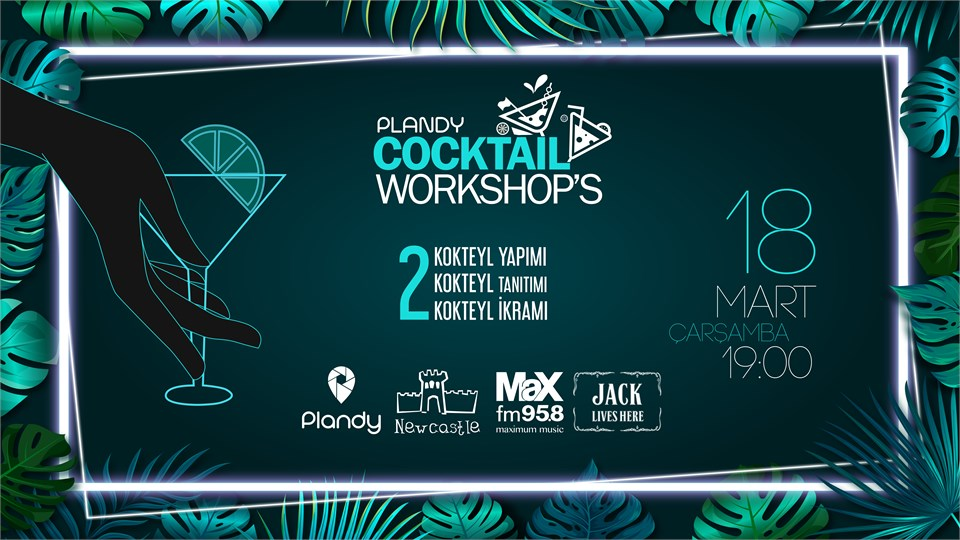 Plandy Cocktail Workshop's | Newcastle Galleria
