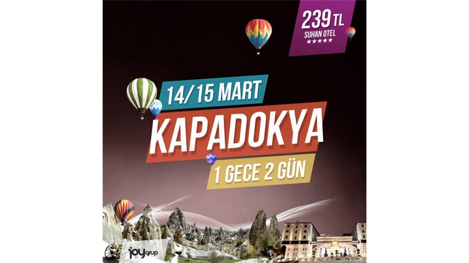 Kapadokya Turu - 2 Gün 1 Gece // 14-15 Mart