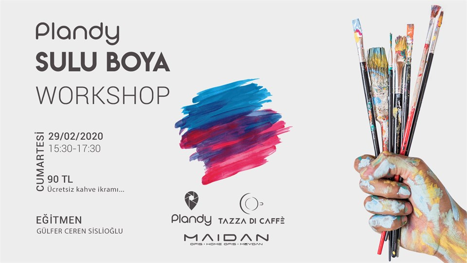 Plandy Sulu Boya Workshops | Tazza Di Caffe