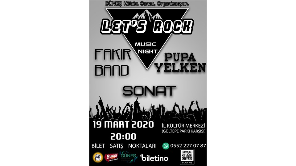 LET'S ROCK MUSIC NIGHT