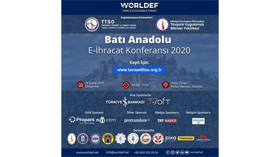 Batı Anadolu E-İhracat Konferansı 2020