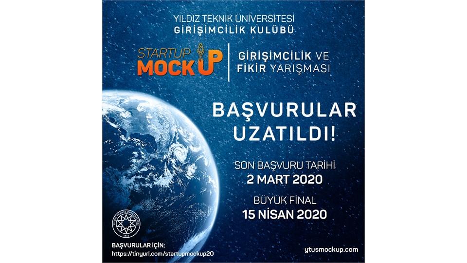 Startup Mockup Yarışma Başvuruları