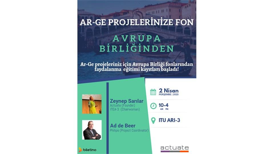 Ar-Ge Projelerinize Fon Avrupa Birliğinden