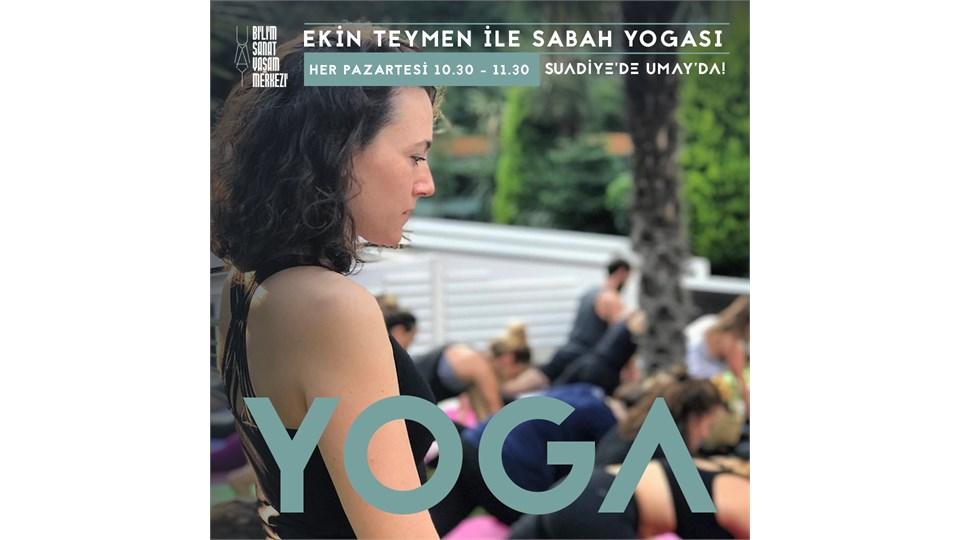 Ekin Teymen ile Sabah Yoga'sı