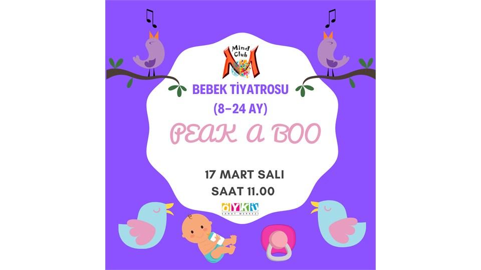 'PEAK A BOO'BEBEK TİYATROSU (8-24 AY)