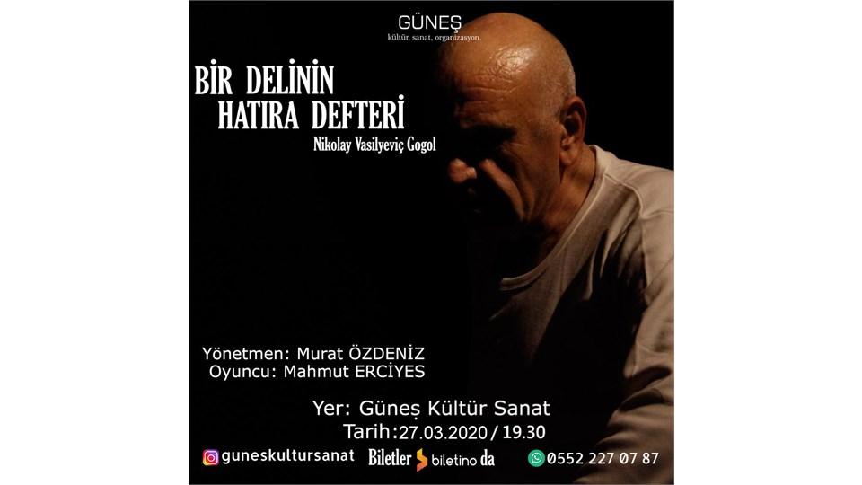 BİR DELİNİN HATIRA DEFTERİ - Tiyatro Oyunu
