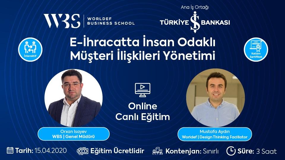 E-İhracatta İnsan Odaklı Müşteri ilişkileri Yönetimi