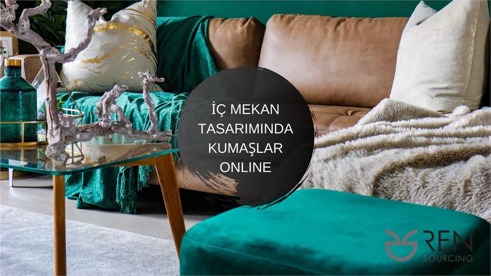 İç Mekan Tasarımında Kumaşlar Online
