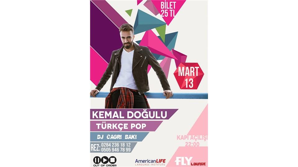 Kemal Doğulu / 13 Mart 2015 / Fly Lounge Edirne