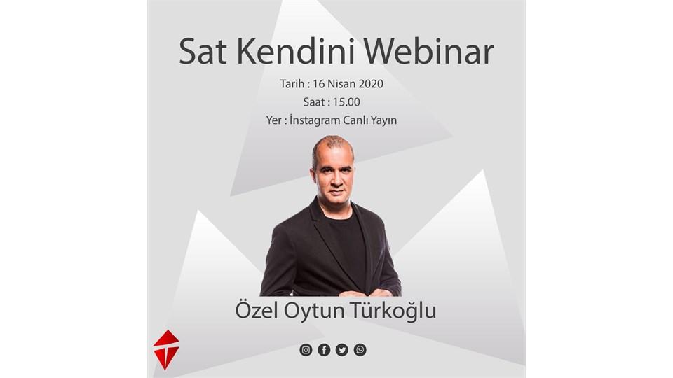 Özel Oytun Türkoğlu ile Sat Kendini Webinar